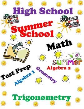 Summer School-High School Math