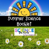 Summer Science Activities Booklet