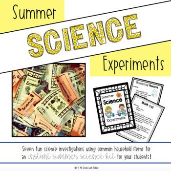 #teachersremember Summer Science Experiments