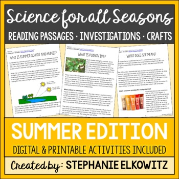Summer Science Articles and Activities