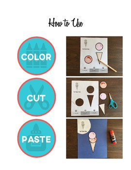 "Summer Scissor Skills: 25 Color, Cut & Paste ""Craftivities"" for Kids"