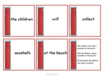 Summer Scrambled Sentences