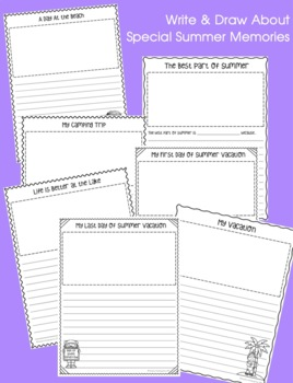 Summer Scrapbook: Fun and Interactive Writing Activities