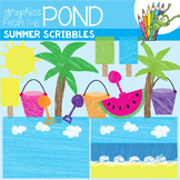 Summer Clipart Freebie