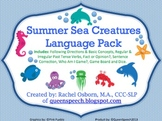 Summer Sea Creatures {Language Pack}