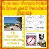 Summer Season PowerPoint & Emergent Reader Bundle