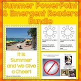 Summer Season PowerPoint & Emergent Reader Bundle