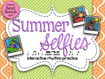 Summer Selfies Syncopa {Interactive Rhythm Game}