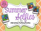 Summer Selfies Ta Rest {Interactive Rhythm Game}
