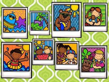 Summer Selfies Takadi / Tiriti / Tikati {Interactive Rhythm Game}