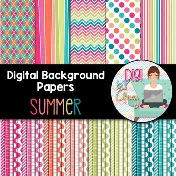 Summer Seller's Clip Art Bundle