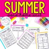 Summer Send Home Preschool Language Unit