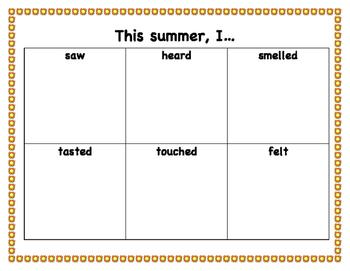 Summer Senses