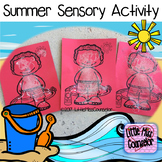 Summer Safe Sensory Activity:  PowerPoint and Sheets for Early Childhood