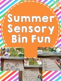 Summer Sensory Bin Fun!