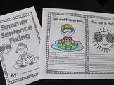 Sentence Fixing Book (Summer Writing Practice)