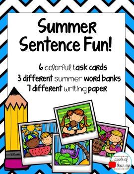 Summer Sentence Fun!