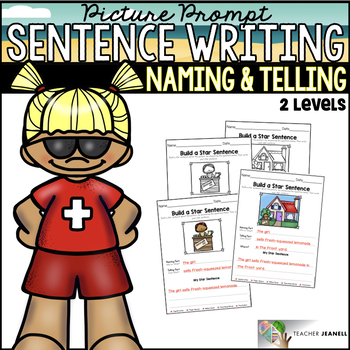 Sentence Building - Naming and Telling Parts of a Sentence Summer