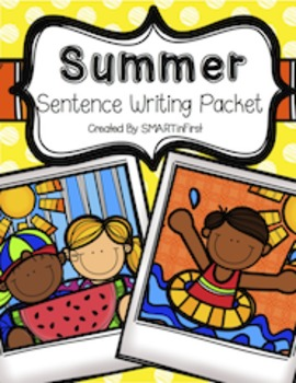 Summer Sentence Writing Packet