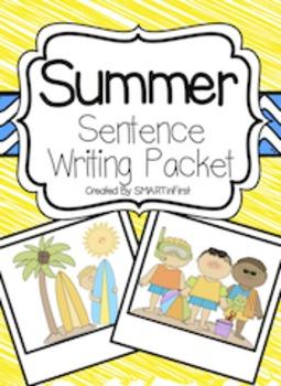 Summer Sentence Writing Packet