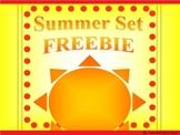 Summer Set *Freebie*
