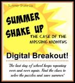 Summer Shake Up Digital Breakout