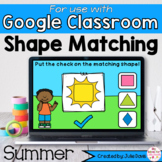 Summer Shapes Math Centers for Google Classroom Distance Learning
