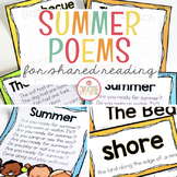 Summer Shared Reading (Sight Word Poems)