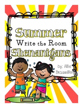 Summer Shenanigans: Write the Room