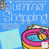 Summer Shopping! Creating Coin Combinations Activity!