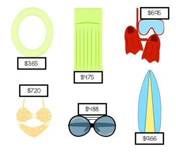 Summer Shopping Spree Center Activity [CCSS]