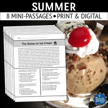 Summer Reading Passages