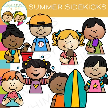 Sidekicks Summer Clip Art