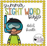 Summer Sight Word Bingo {Dolch BUNDLE}