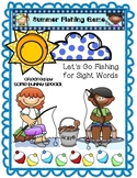Summer Sight Word Fishing Game!