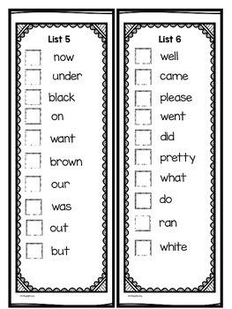 End of the Year Sight Word Review