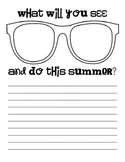 Summer Sights:  Sunglasses Writing