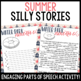 Summer Silly Stories Activity   Practice Parts of Speech