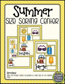{Summer} Size Sorting Center