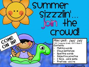 Summer Sizzlin'...JOIN THE CROWD