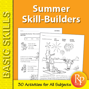 Summer Skill-Builder Activities for All Subjects