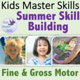 Summer Skill Building FREEBIE - Fine Motor and Gross Motor