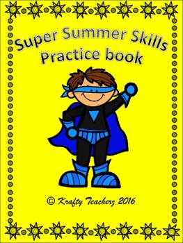Summer Skills Activity book Kindergarten