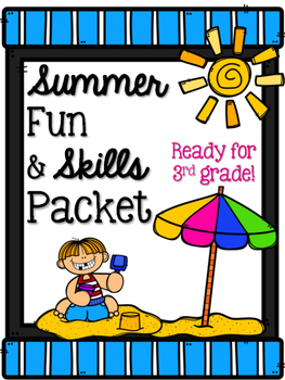 Summer Skills & Fun (No Prep) Packet: Ready for 3rd grade