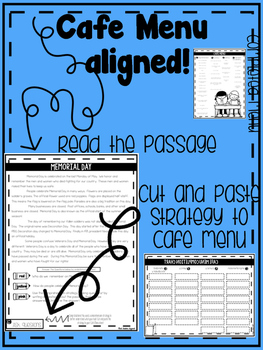 Summer Skills Packet -Cafe Menu Aligned