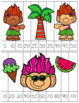 Summer Skip Counting Number Puzzles and Worksheets