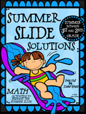Summer Slide Solutions ~ Math Practice For First to Second Grade