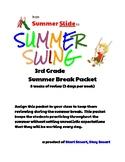 Summer Slide Summer Packet 3rd Grade - Common Core Review