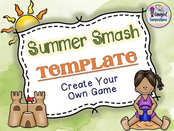 Summer Smash Template  - Create Your Own Game