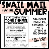 Summer Snail Mail Packet
